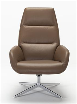 Kebe Ergo Leather Recliner Chair and Footrest Kebe Denmark