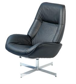 Kebe Roma Leather Recliner Chair and Footrest Kebe Denmark