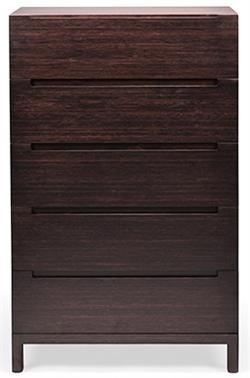 Five Drawer Chest Orchid Greenington Bamboo Bedroom Furniture