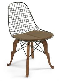 Case Study Wire Chair Prince Charles Base Modernica Wire Chairs