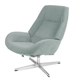 Roma Recliner in Yeti Fabric Kebe Recliner and Footrest Kebe Denmark