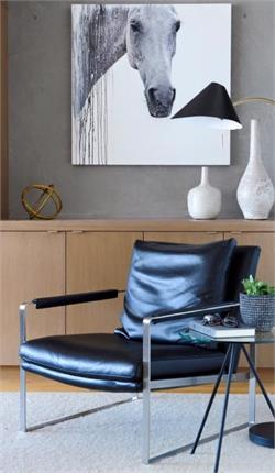 A Zara Lounge Chair Soho Concept Zara Chair Leather