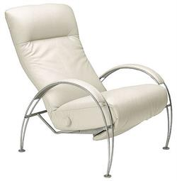Lafer Billie Recliner DISCONTINUED MODEL Chair Lafer Brazil Luxury Leather Reclining Chairs