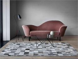 Brilliant Area Rug of Leather Linie Design Leather Rugs