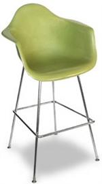 "Modernica HBase 25"" Counter Stool Arm Shell Chair"