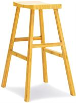A Barstool Erica Barstool and Counter Stool Greenington Bamboo