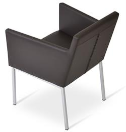 Harput Chrome Arm Chair by Soho Concept Chairs