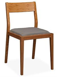 Laurel Chair Dining Chair Greenington Bamboo Dining Furniture