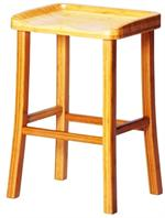 Tulip Counter Stools Bamboo Barstool Chairs by Greenington